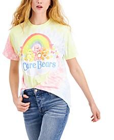 Juniors' Care Bears Rainbow Graphic-Print T-Shirt