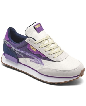 Puma Suedes WOMEN'S FUTURE RIDER INTERNATIONAL WOMEN'S DAY CASUAL SNEAKERS FROM FINISH LINE