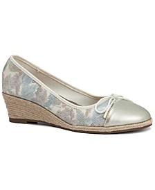 Tamisaa Espadrille Wedge Pumps, Created for Macy's
