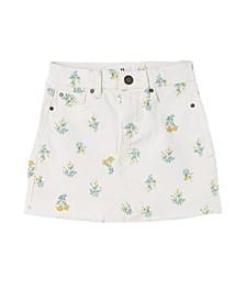 Little Girls Finn Denim Skirt