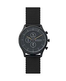 Men's and Women's Hybrid HR Jorn Black Silicone Strap Smart Watch 42mm
