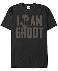 Men's I Am Plain Short Sleeve Crew T-shirt
