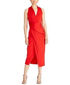 Brett Midi Wrap Dress