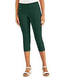 Tummy-Control Pull-On Capri Pants, Regular & Petite Sizes, Created for Macy's