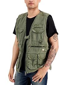 Men's Poplin Utility Vest