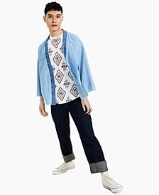 Men's Kenzo Denim Kimono, Created for Macy's