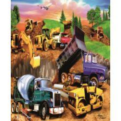 Construction Crowd 60-pc Puzzle