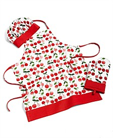 Kid's Apron, Chef's Hat & Oven Mitt Set, Created for Macy's