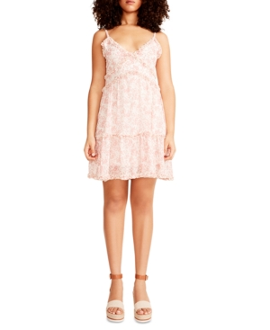 Juniors' Cami Ruffle Mini Dress