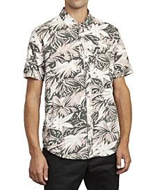 Men's Shorts Sleeve Woven Shirt