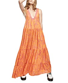 Tiers For You Maxi Dress