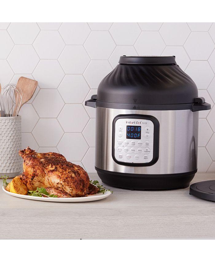 Instant Pot - Duo Crisp 6-Qt. Pressure Cooker & Air Fryer