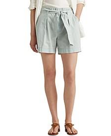 Petite Paperbag Shorts