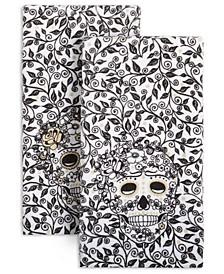 Skull & Vine Kitchen Towels, Set of 2