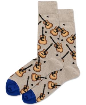 Men's Acoustic Guitars Crew Socks