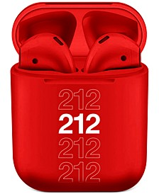Receive Free Headphones with any jumbo spray purchase from the Carolina Herrera 212 fragrance collection