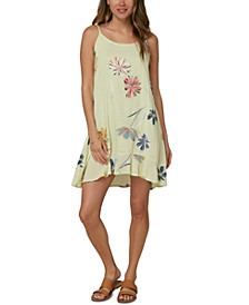 Juniors' Hollis Floral-Print Dress
