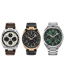 Eco-Drive Men's Chronograph Promaster Tsuno Racer Watch Collection