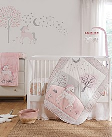 Baby Colette Crib Bedding Set, 5 Piece