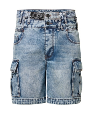 Men's Cargo Trousers Denim Short