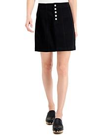 Juniors' Denim Skirt
