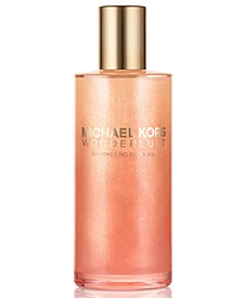 Receive a Complimentary  Michael Kors Wonderlust Body Oil with any $100 purchase from the Michael Kors Gorgeous Fragrance Collection