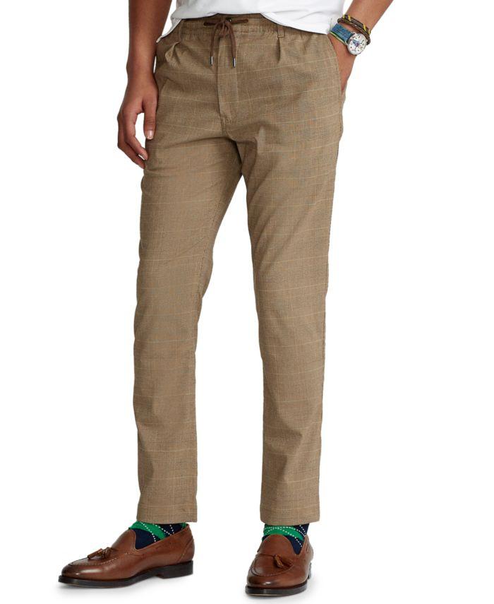 Polo Ralph Lauren Men's Slim Tapered Polo Prepster Pants & Reviews - Pants - Men - Macy's