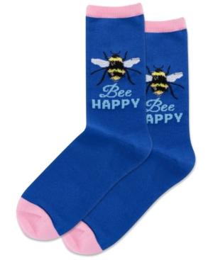 Bee Happy Crew Socks