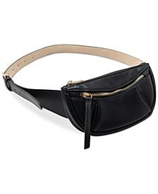 INC Pebbled Belt Bag, Created for Macy's