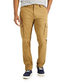 Men's Roth Relaxed-Fit Stretch Cargo Pants, Created for Macy's