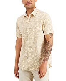 Men's York Animal Print Shirt, Created for Macy's