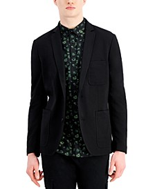 Men's Classic-Fit Solid Knit Blazer, Created for Macy's