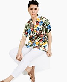 Men's Paradise Short-Sleeve Shirt, Created for Macy's