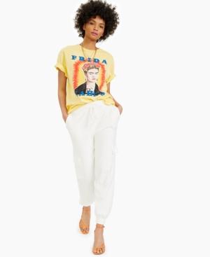 Juniors' Frida Radiant Cotton T-Shirt