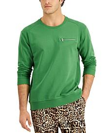Men's Slant Zip Long-Sleeve T-Shirt, Created for Macy's