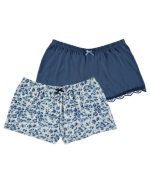 Women's Printed Knit Shorts