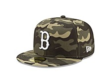 Boston Red Sox 2021 Armed Forces Day 59FIFTY Cap