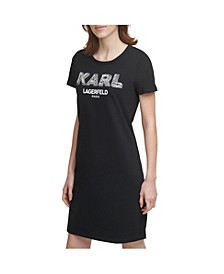 Pearl Logo T-Shirt Dress