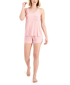 Women's Tank & Shorts Pajama Set, Created for Macy's