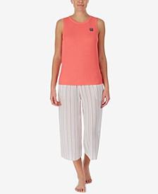 Tank Top & Capri Pants Pajama Set