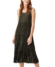 Silk Tiered Dress