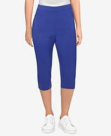 Women's Missy Savannah Allure Stretch Slim-Fit Capri Pants