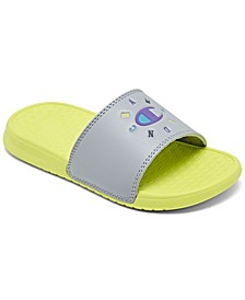 Little Girls IPO Circular Slide Sandals from Finish Line