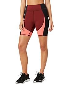 Women's Push Yourself Colorblocked Bike Shorts