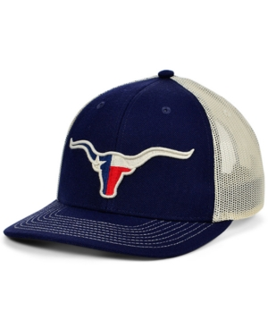 Local Crowns Longhorn Texas Animal Collection Curved Trucker Cap