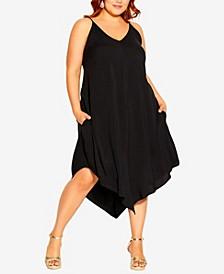 Plus Size Sweet V Dress