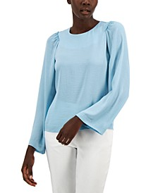 Ruched Sleeve Blouse, Created for Macy's