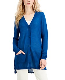 Lightweight Button-Front Cardigan, Created for Macy's