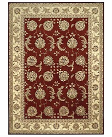 "Wool and Silk 2000 2022 Lacquer 5'6"" x 8'6"" Area Rug"