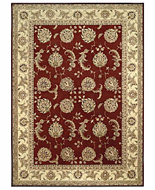 "Nourison Area Rug, Wool & Silk 2000 2022 Lacquer 5' 6"" x 8' 6"""